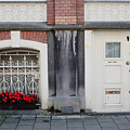 Small Door And Flower Box  Amsterdam by Thomas Marchessault