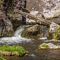 Small Falls Below Big Falls by Marv Vandehey