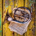 Small French Horn by Garry Gay