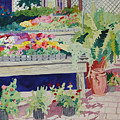 Small Garden Scene by Terry Holliday
