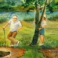 Small Golf Hazard by Marilyn Smith