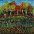 Small Lake. by Evgenia Davidov