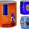 Small Or Large Coffee Mugs by Jeff Kurtz