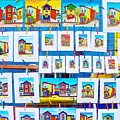 Small Paintings For Sale In La Boca Area Of Buenos Aires-argentina  by Ruth Hager