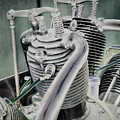 Small Radial Engine by Dennis Dame