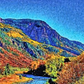 Small River Valley by Modified Image