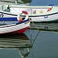 Small Skiffs - Lyme Regis Harbour by Susie Peek