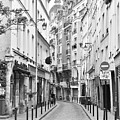 Small Street In Paris 2 by Kim Bemis