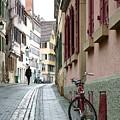 Small Street In Tubingen. by Martina Fagan