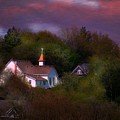 Small Town Church by Kim Blaylock