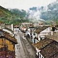 Small Town Ecuador by Sarah Loft