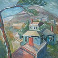 Small Town On A Mountain by Joseph Sandora Jr