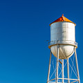 Small Town Water Tower by Todd Klassy