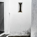 Small Window In White Wall by Edgar Laureano