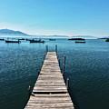 Small Wood Pier by Edgar Lara