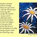 Smile - Poetry In Art by Robin Monroe