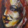 Smile - Portrait Of A Woman by Carmen Tyrrell