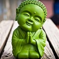 Smiley Buddha by Nimu Bajaj and Seema Devjani