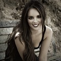 Smiling Beauty by Dawn Van Doorn