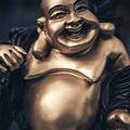 Smiling Buddha by Paradigm Blue