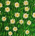 Smiling Margaret's Flowers by Gina Nicolae Johnson