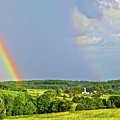 Smith Mountain Lake Rainbow by The American Shutterbug Society