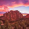 Smith Rock Sunset by Patricia Davidson