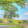 Smiths Battery Devils Den Gettysburg by Randy Steele