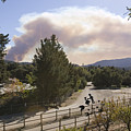 Smoke From Ventura Wildfire, View by Rich Reid