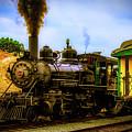 Smoke Stack Steam Train by Garry Gay