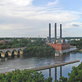 Smokestacks On The Mississippi by Tom Reynen