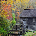 Smokey Mountain Grist Mill by Jennifer Robin