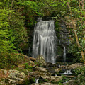 Smokey Mountain Waterfall by Ann Keisling