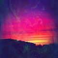 Smokey Purple Sunrise by Suggestive Moods