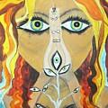 Smokin Bellydancer by Meshal Hardie