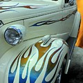 Smokin' Hot - 1938 Chevy Coupe by Betty Northcutt
