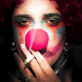 Smoking Clown by Jorgo Photography - Wall Art Gallery