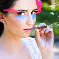 Smoking Glamour by Jorgo Photography - Wall Art Gallery