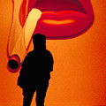 Smoking Lips by Carl Purcell