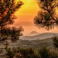 Smoky Black Hills Sunrise by Fiskr Larsen