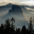 Smoky Dawn At Yosemite by Randy Gebhardt