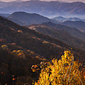 Smoky Mountain Hillsides At Autumn by Andrew Soundarajan