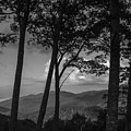 Smoky Mountain In Black And White  by John McGraw