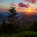 Smoky Mountain Sunset by Christopher Mobley