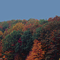 Smoky Mountains In Autumn by DigiArt Diaries by Vicky B Fuller