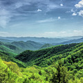 Smoky Mountains Lush Hills by Christopher Arndt