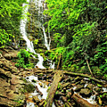 Smoky Mountains Waterfall by Kay Brewer