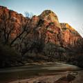 Smooth Desert River by Mitch Johanson