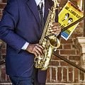 Smooth Sax Man by Mark Fuge