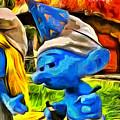 Smurfette And Friends - Da by Leonardo Digenio